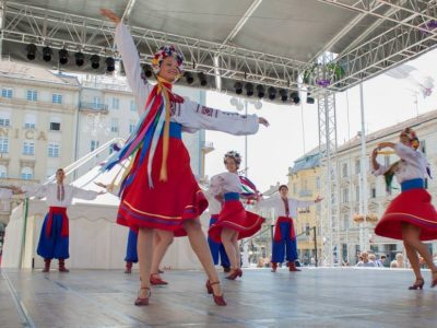 Folklore festival tour Croatia Zagreb